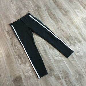 ❄️ 3/$25 Black Side Striped Stretchy Trousers